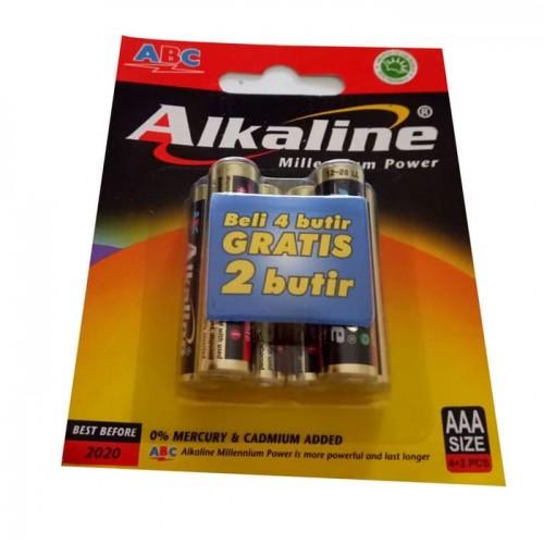 Baterai ABC Alkaline AAA
