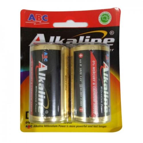Baterai ABC Alkaline Size D LR20