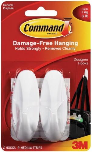 Command Designer Hooks 3M - 17081