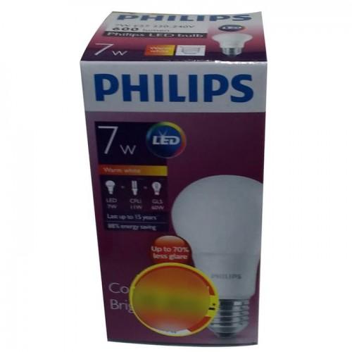 Philips Lampu LED 7 Watt (Warm White / Kuning)