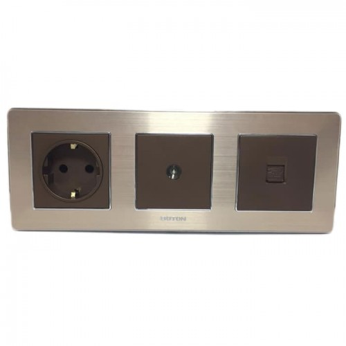 Boton Stop Kontak - TV Socket - Telephone K2