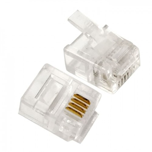 Connector Telephone RJ11 4 Pin