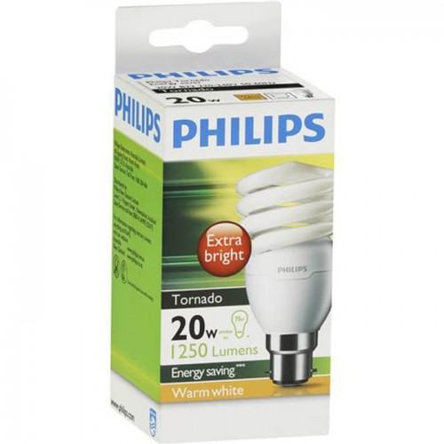 Philips Lampu Tornado 20 Watt - Kuning
