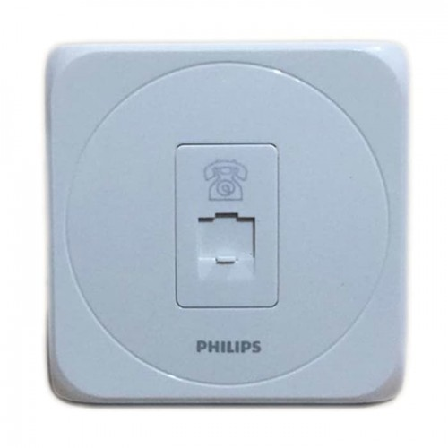Philips Simply Telephone Outlet