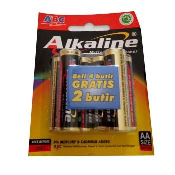 Baterai ABC Alkaline A2