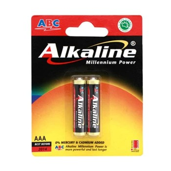 Baterai ABC Alkaline AAA LR03 2pcs