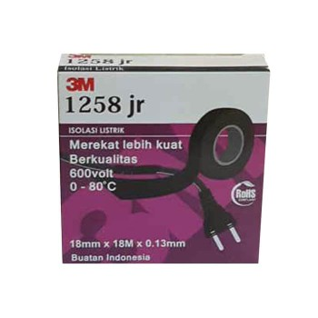 3M 1258JR Isolasi listrik / electrical tape