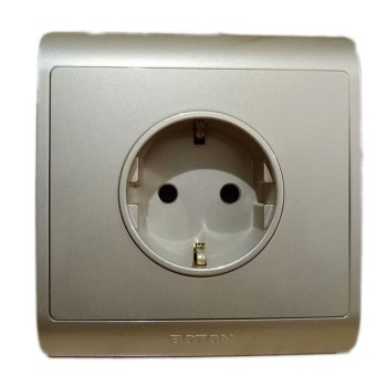 Boton Stop Kontak 16A Euro Socket German Type G7-097