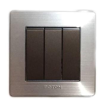 Boton Saklar Triple - Hotel K2-007