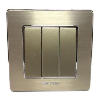 Boton Gold Saklar Triple Hotel K2-007
