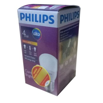 Philips Lampu LED 4 Watt (Warm White / Kuning)