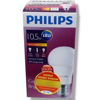 Philips Lampu LED 10,5 Watt (Warm White / Kuning)