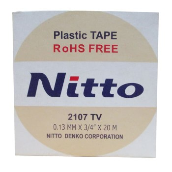 Nitto Isolasi Listrik / Electrical Tape 2107 TV