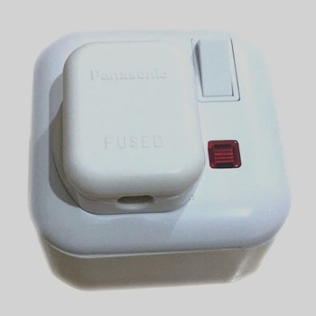 Stop kontak AC Panasonic - Steker Kotak Outbow Plastik WBJ 2214W - 3K