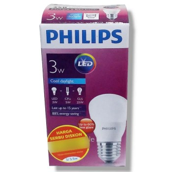 Philips Lampu LED 3 Watt