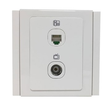 BOSS Lumio Telephone Outlet - TV Outlet B3032TO-TV B3000
