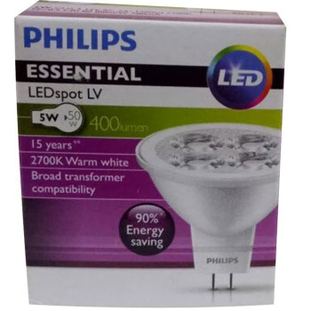 Philips Essential LED Spot Lv 5 - 50 W 2700 K MR16