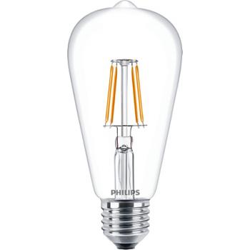 Philips Classic LED Bulb 4-50w ST64 Warm White