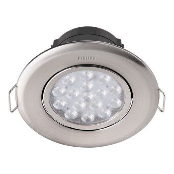 Philips Spot Nickel Recessed 5 Watt 2700K - 47040