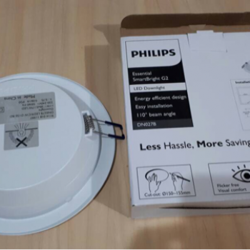 Philips SmartBright G2 LED Downlight DN027B 11W 6500K