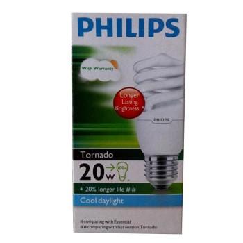 Philips Lampu Tornado 20 Watt - Putih