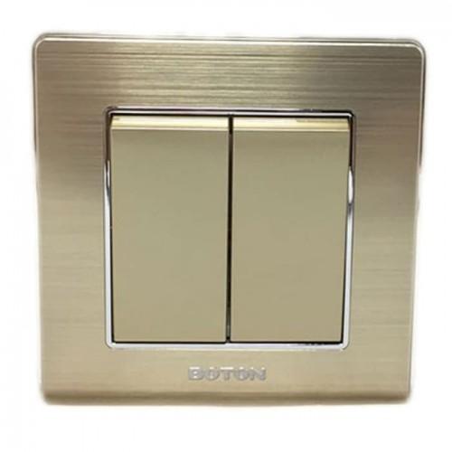 Boton Gold Saklar Seri K2-004