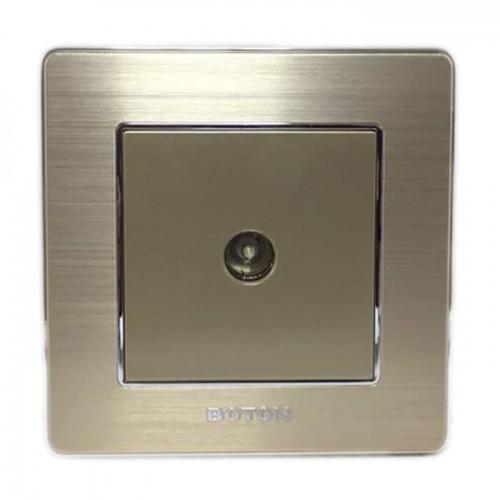 Boton Gold TV Socket K2-010