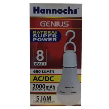 Lampu Hannochs Genius 8 Watt
