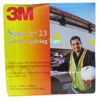 Scotch 23 Rubber Splicing Tape - 3M
