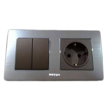 Boton Saklar Seri dan stop kontak K2-024