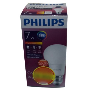 Philips Lampu LED 7 Watt (Warm White / Kuning)