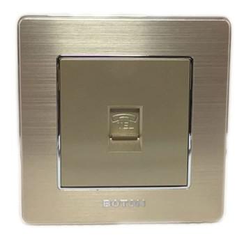 Boton Gold Telephone Socket K2-011