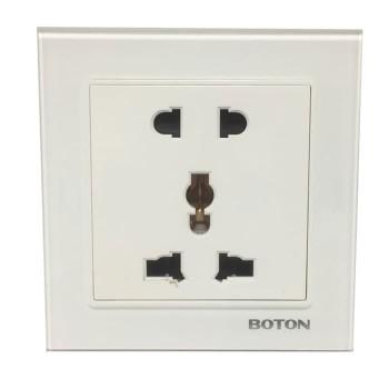 Boton Universal Socket 5 Pin G9 Glass White