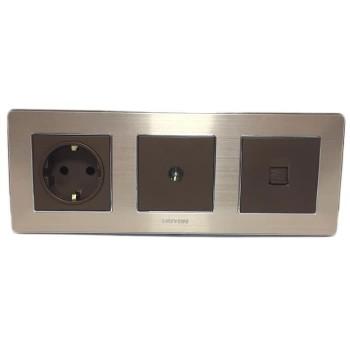 Boton Stop Kontak - TV Socket - Telephone K2