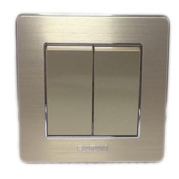 Boton Saklar Seri Hotel K2-005 Gold