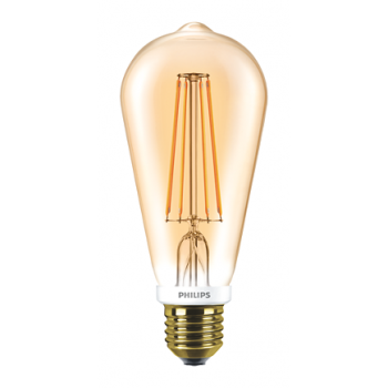 Philips Classic LED Bulb 7-70w ST64 Warm White