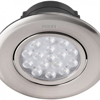 Philips Spot Nickel Recessed 5 Watt 4000K - 47041