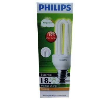 Philips Essential 18W-100W Kuning