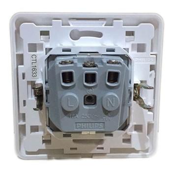 Philips Agilestyle Stop Kontak 16EU Socket